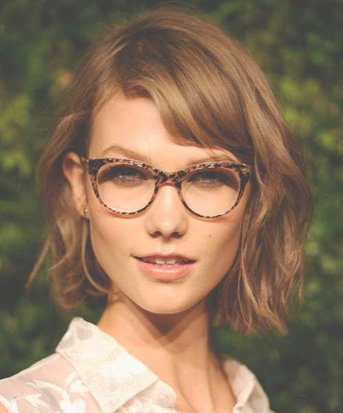 Featured Photo of Medium Hairstyles For Girls With Glasses