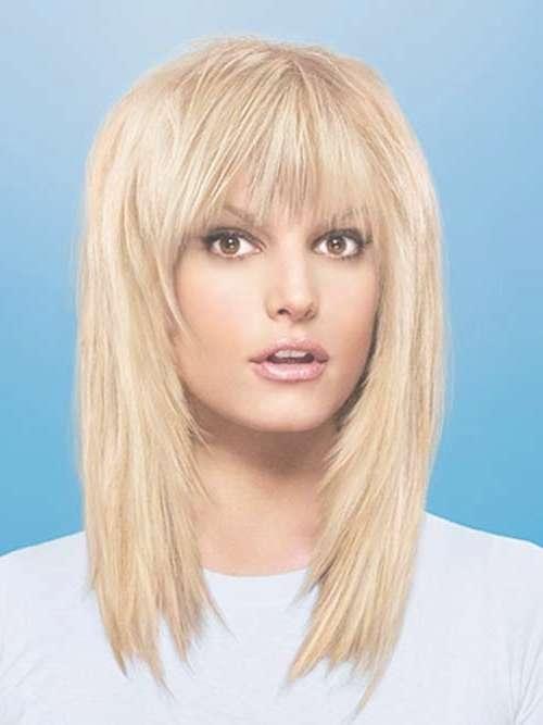 20 Best Medium Hair Cuts With Bangs | Hairstyles & Haircuts 2016 For Latest Medium Haircuts Bangs (View 17 of 25)