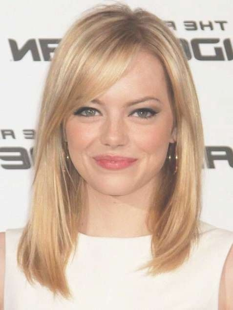 20 Best Medium Length Hairstyles For Women Intended For Recent Medium Haircuts Side Bangs (View 8 of 25)