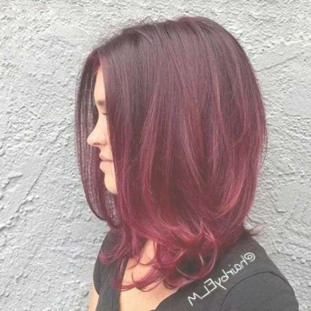 20 Best My Style Images On Pinterest | Hair Colors, Red Hair And Regarding Current Medium Haircuts With Red Hair (View 22 of 25)