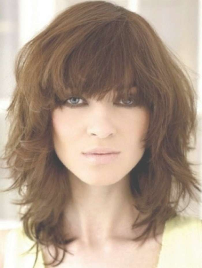 20 Best Of Cute Long Hairstyles With Bangs Pertaining To Most Up To Date Cute Medium Hairstyles With Bangs (View 23 of 25)