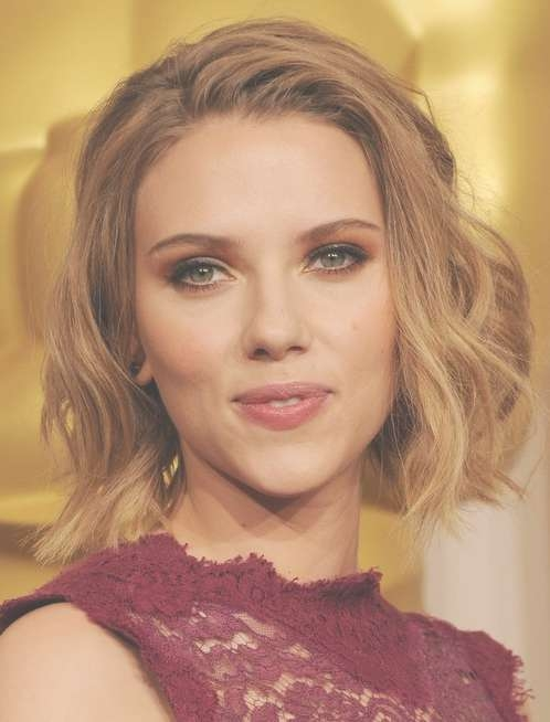 20 Best Short Wavy Haircuts For Women – Popular Haircuts With Most Current Scarlett Johansson Medium Haircuts (View 14 of 25)