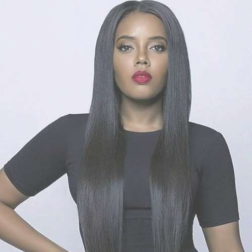20 Best The Long Hairstyles For Black Women Images On Pinterest Regarding Best And Newest Long Hairstyle For Black Ladies (View 9 of 25)
