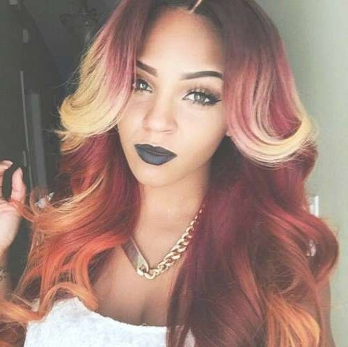 20+ Black Women Long Hair | Hairstyles & Haircuts 2016 – 2017 Intended For Recent Long Hairstyle For Black Ladies (View 13 of 25)