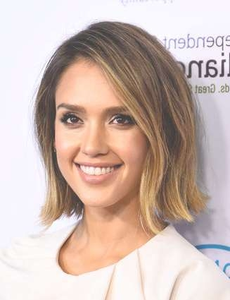 20 Celebrity Bob Hairstyles We Love (Photos) With Celebrity Bob Haircuts (View 6 of 25)