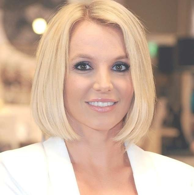 20 Chic Bob Hairstyles For Fine Hair – Pretty Designs Inside One Length Bob Haircuts (View 18 of 25)