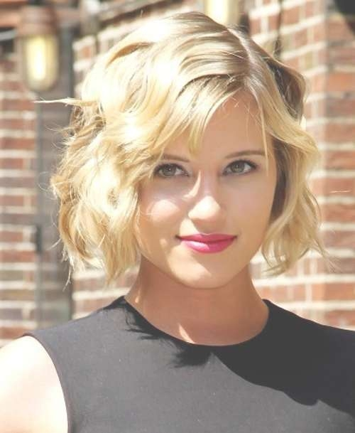 20 Chic Wavy Bob Haircuts For All   Styles Weekly In Celebrity Short Bobs Haircuts (View 2 of 25)