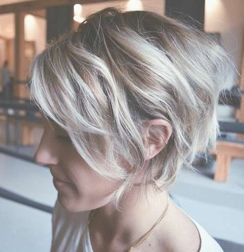 20 Chic Wedge Hairstyle Designs You Must Try: Short Haircut For Intended For Most Up To Date Wedge Medium Haircuts (View 20 of 25)