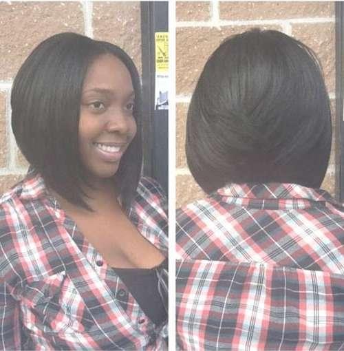 20 Cute Bob Hairstyles For Black Women   Short Hairstyles 2016 Regarding Black Bob Haircuts (View 5 of 25)
