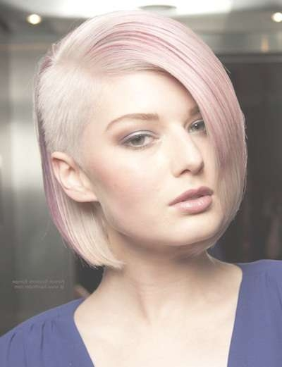 20 Edgy Women's Undercuts – Popular Haircuts For Current Undercut Medium Hairstyles For Women (View 8 of 25)