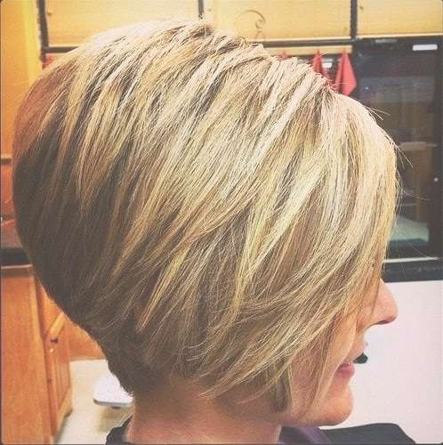 20 Flawless Short Stacked Bobs To Steal The Focus Instantly Within Bob Haircuts Shaved In Back (View 8 of 25)
