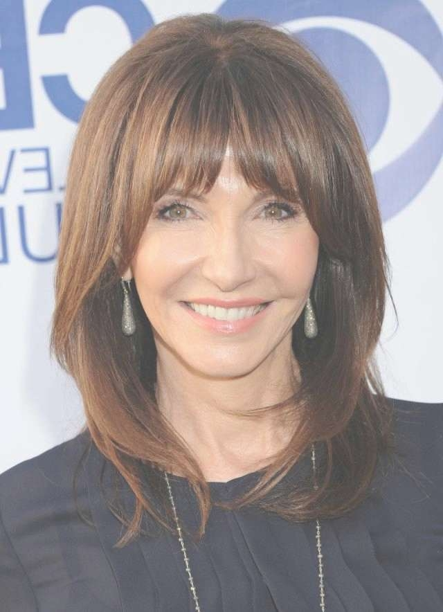 20 Gorgeous Medium Length Haircuts For Women Over 50 | Shoulder In Most Up To Date Older Women Medium Haircuts (View 23 of 25)