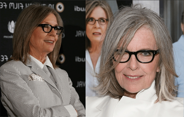 20 Gorgeous Medium Length Haircuts For Women Over 50 Within Newest Medium Hairstyles For Women With Glasses (View 14 of 15)