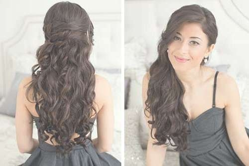 20 Hairstyles For Prom Long Hair | Hairstyles & Haircuts 2016 – 2017 For Current Long Hairstyle For Prom (View 3 of 25)