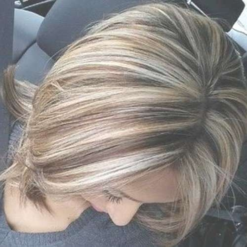 20 Highlighted Bob Hairstyles | Bob Hairstyles 2017 – Short Pertaining To Most Current Highlighted Medium Hairstyles (View 21 of 25)