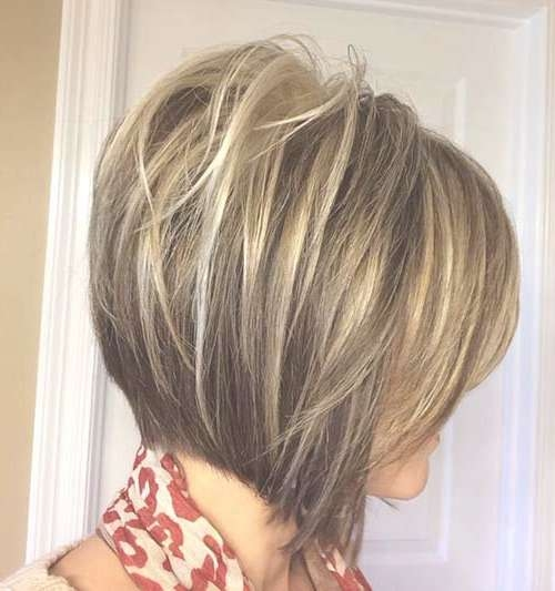 20+ Inverted Bob Haircuts | Short Hairstyles 2016 – 2017 | Most For Best And Newest Highlighted Medium Hairstyles (View 8 of 25)