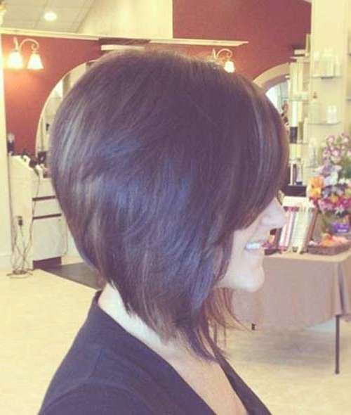 20 Inverted Bob Hairstyles | Short Hairstyles 2016 – 2017 | Most Intended For Inverted Bob Haircuts (View 4 of 25)