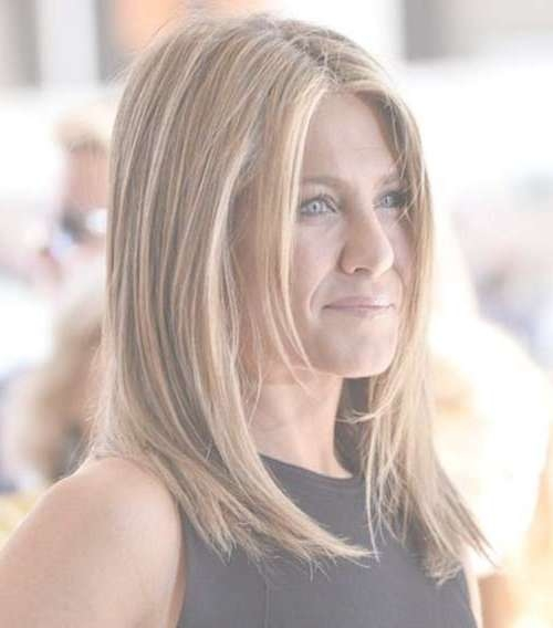 Jennifer aniston long bob 2018
