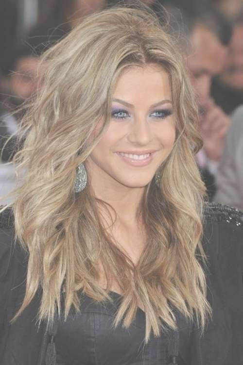 20 Layered Hairstyles For Women With 'problem' Hair – Thick, Thin For Recent Medium Hairstyles Heart Shaped Face (View 22 of 25)