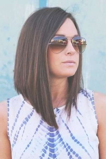 20 Long Bob Hairstyles For Straight Long Bob Hairstyles (View 13 of 25)