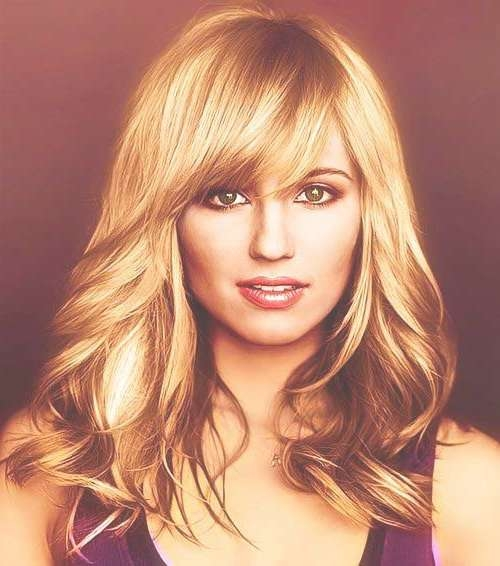 20+ Long Hair Side Swept Bangs | Hairstyles & Haircuts 2016 – 2017 With Best And Newest Side Bang Medium Hairstyles (View 20 of 25)