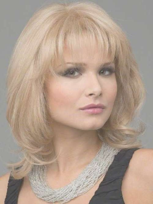20 Medium Lenght Hairstyles | Hairstyles & Haircuts 2016 – 2017 Intended For Recent Medium Hairstyles For Women With Bangs (View 7 of 25)