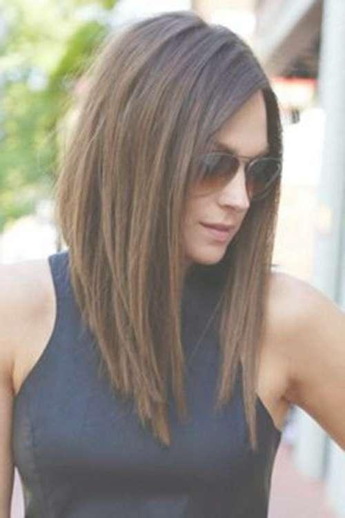 20 Medium Length Haircut For Thick Hair Inside Most Popular Medium Haircuts For Thick Hair (View 10 of 25)