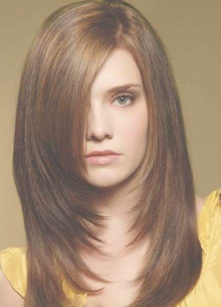 20 Medium Length Haircuts For Thick Hair Intended For Most Recently Medium Hairstyles With Layers For Thick Hair (View 6 of 25)