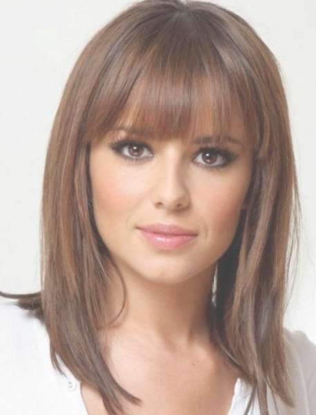 20 Medium Length Haircuts For Thick Hair Pertaining To Recent Medium Hairstyles Thick Straight Hair (View 6 of 15)