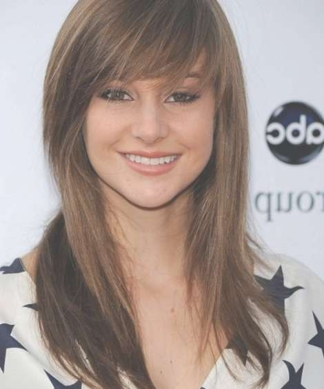 20 Medium Length Haircuts For Thick Hair With Most Up To Date Medium Haircuts With Bangs And Layers (View 6 of 25)