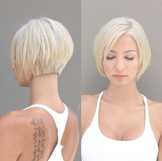20 Newest Bob Hairstyles For Women: Easy Short Haircut Ideas Regarding Short Bob Haircuts For Women (View 17 of 25)