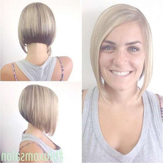 20 Newest Bob Hairstyles For Women: Easy Short Haircut Ideas Throughout Medium To Short Bob Haircuts (View 8 of 25)