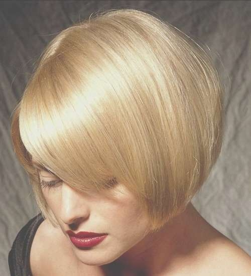 20 Short Bob Hairstyles For 2012 – 2013 | Short Hairstyles 2016 Throughout One Length Bob Haircuts (View 13 of 25)