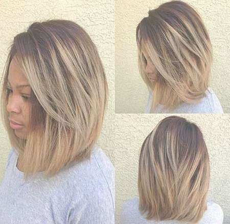 20 Short Bob Hairstyles For Black Women | Short Hairstyles 2016 Intended For Newest Medium Haircuts On Black Women (View 24 of 25)