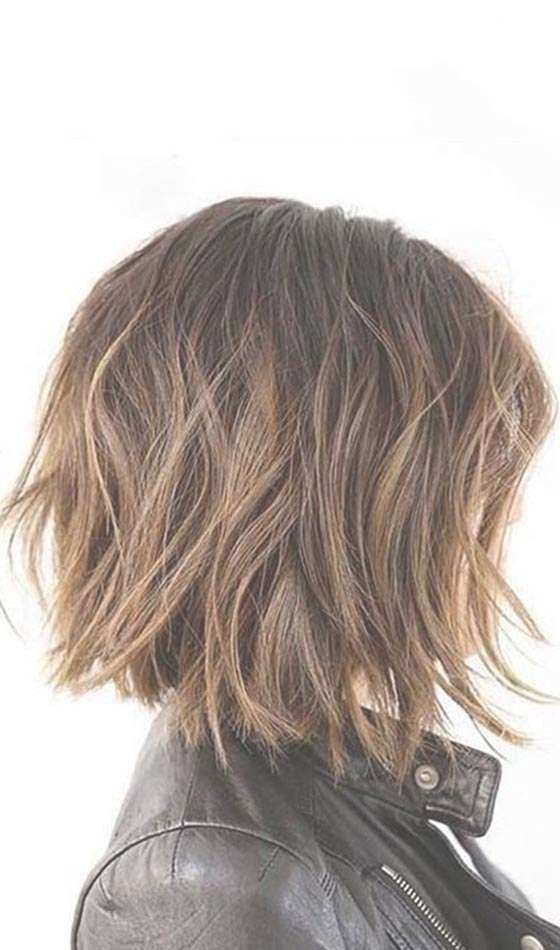 20 Short Choppy Hairstyles To Try Out Today With Newest Choppy Medium Haircuts For Fine Hair (View 10 of 25)