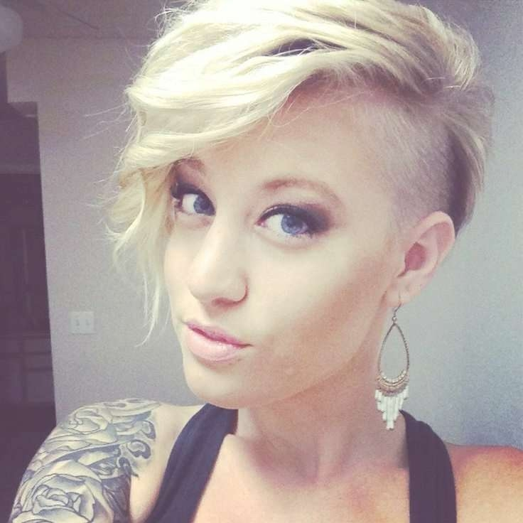 20 Spicy Edgy Hairstyles For Short Hair – Hairstyle For Women Inside Newest Shaved Medium Hairstyles (View 25 of 25)