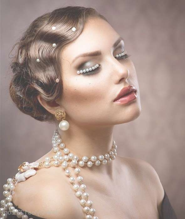 20 Top Flapper Girl Finger Wave Hairstyle Ideas With Current Flapper Girl Medium Hairstyles (View 6 of 25)