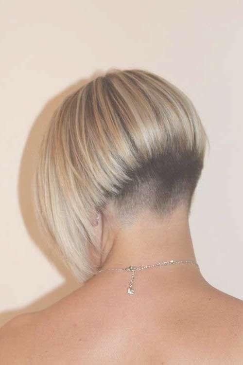 20 Very Short Bob Haircuts | Bob Hairstyles 2017 – Short Within Bob Haircuts Shaved In Back (View 5 of 25)