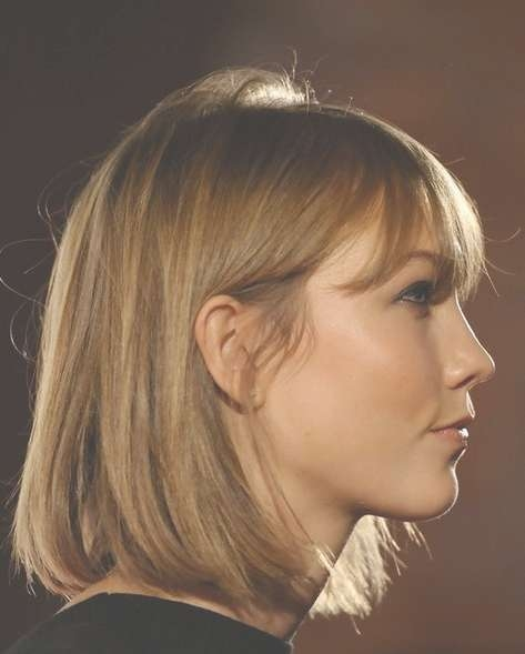 2014 Karlie Kloss Hairstyles: Classic Bob Haircut – Pretty Designs Intended For Most Recent Karlie Kloss Medium Haircuts (View 11 of 25)