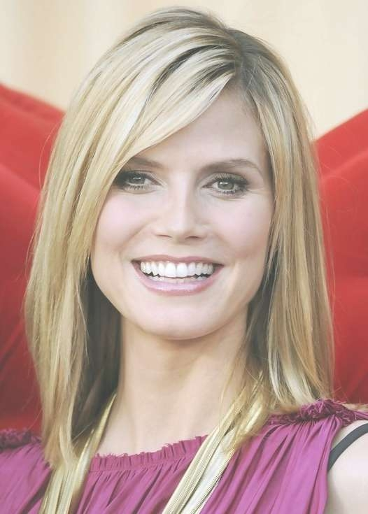 2014 Ombre Hairstyles: Medium Hair Styles With Bangs – Popular With Latest Medium Haircuts Styles With Bangs (View 16 of 25)