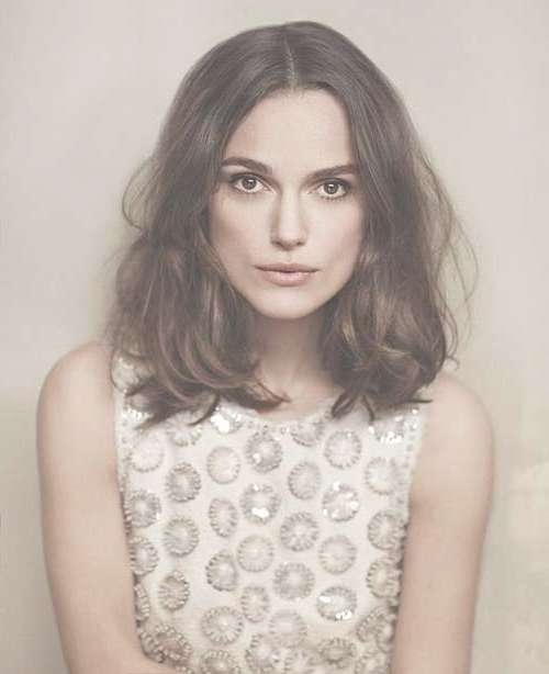 2015 – 2016 Women Hairstyles | Hairstyles & Haircuts 2016 – 2017 With Most Recent Keira Knightley Medium Haircuts (View 2 of 25)