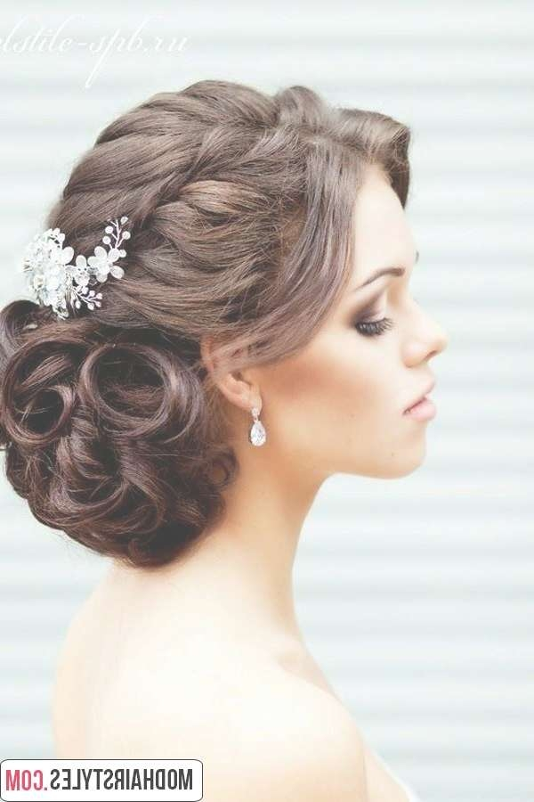 2016 Bridal Hairstyles And Bridal Hairstyle Trends With Most Popular Brides Medium Hairstyles (View 12 of 25)