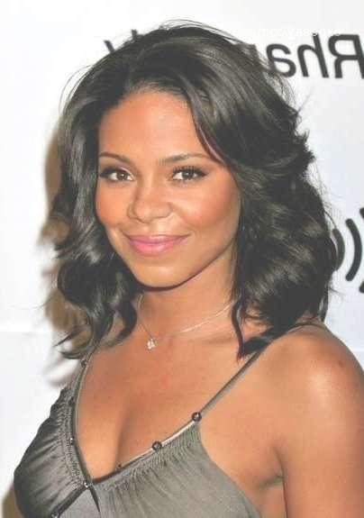 2016 Medium Hairstyles For Black Women Hairstyles 2016 New Black Pertaining To Latest Black Women Medium Hairstyles (View 14 of 25)