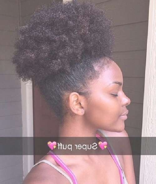 2017 ~ Medium Hairstyles Gallery 2017 Regarding Best And Newest Medium Haircuts For Kinky Hair (View 1 of 25)