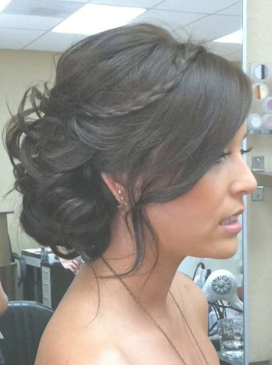 2017 Prom Hairstyles Updos For Medium Length Hair With Recent Medium Hairstyles For A Ball (View 23 of 25)