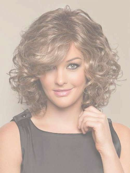2018 Best Of Medium Length Bob Hairstyles For Curly Hair Pertaining To Short Length Bob Hairstyles (View 7 of 25)