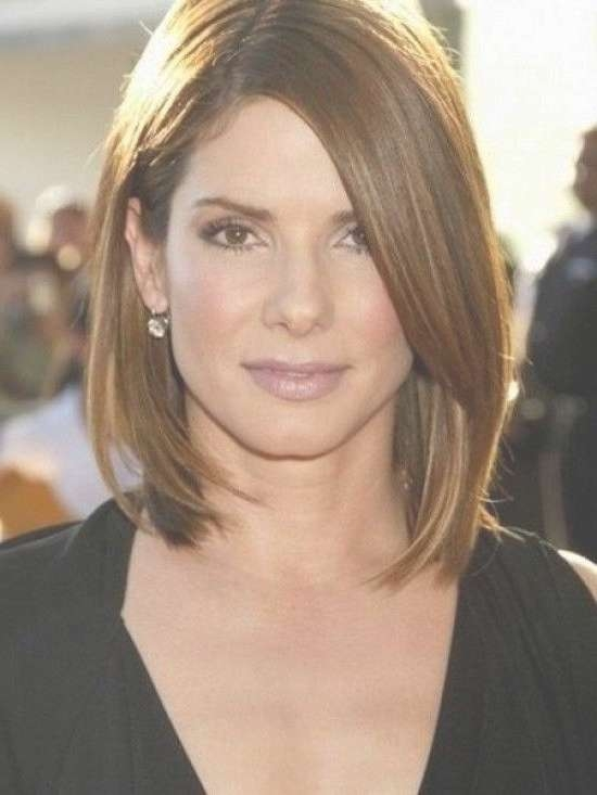 2018 Popular Medium Hairstyles For Long Face With Regard To Current Medium Haircuts For Long Faces (View 4 of 25)