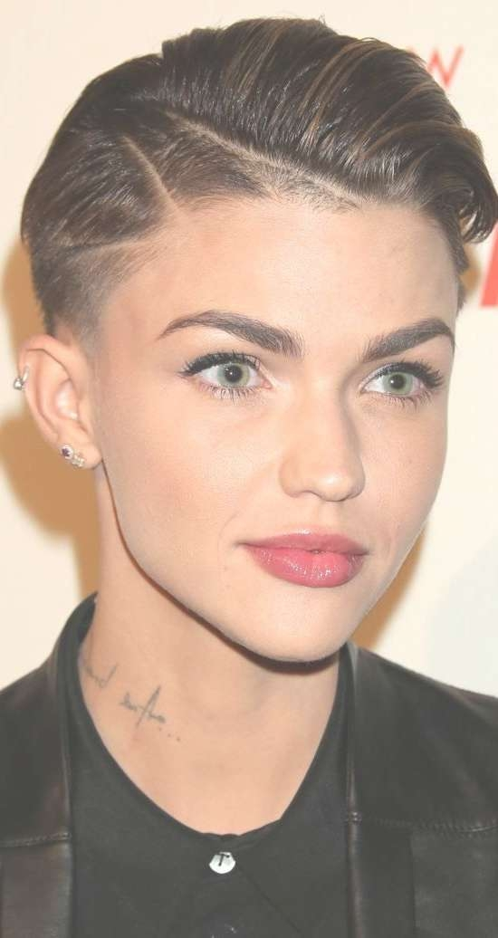 21 Gorgeous Super Short Hairstyles: # (View 1 of 15)