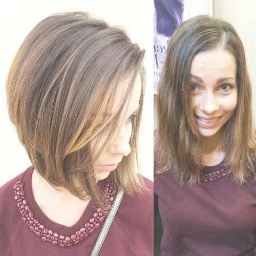 Photo Gallery of Medium Hair Bob Haircuts (Showing 2 of 25 Photos)