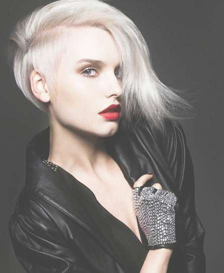 21 Most Coolest And Boldest Undercut Hairstyles For Women In Best And Newest Undercut Medium Hairstyles For Women (View 14 of 25)
